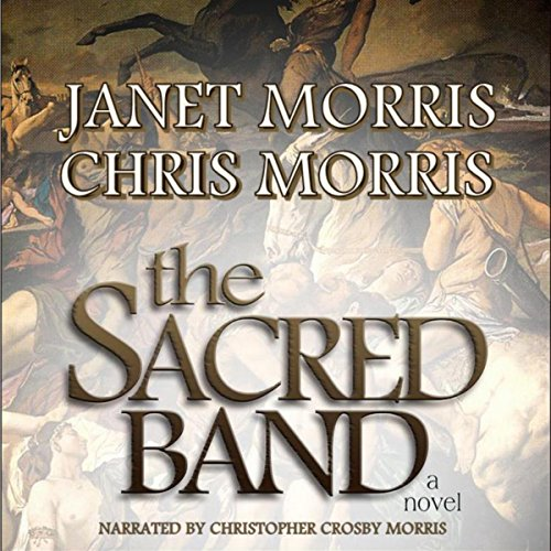 The Sacred Band audiobook cover art