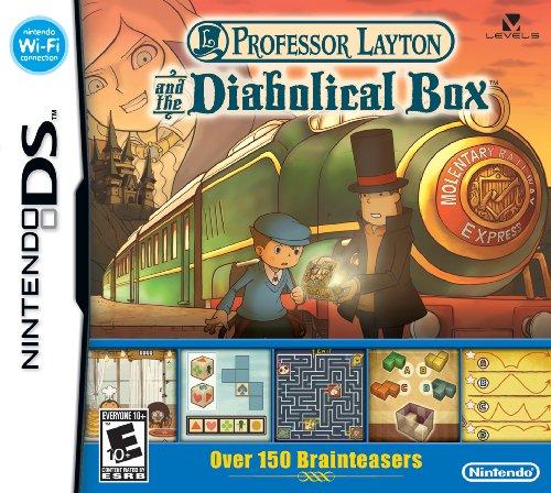 Nintendo Professor Layton And Pandoras Box - Juego