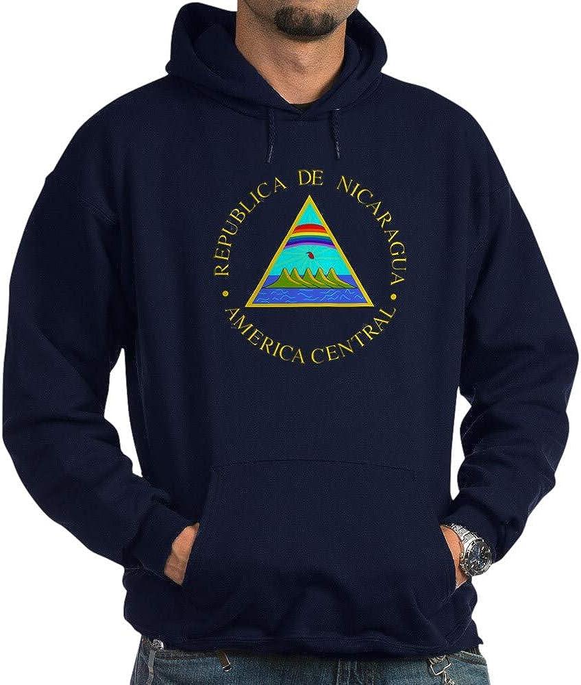 CafePress Nicaragua Coat of Sweatshirt Dark Translated Hoodie Arms Cheap bargain