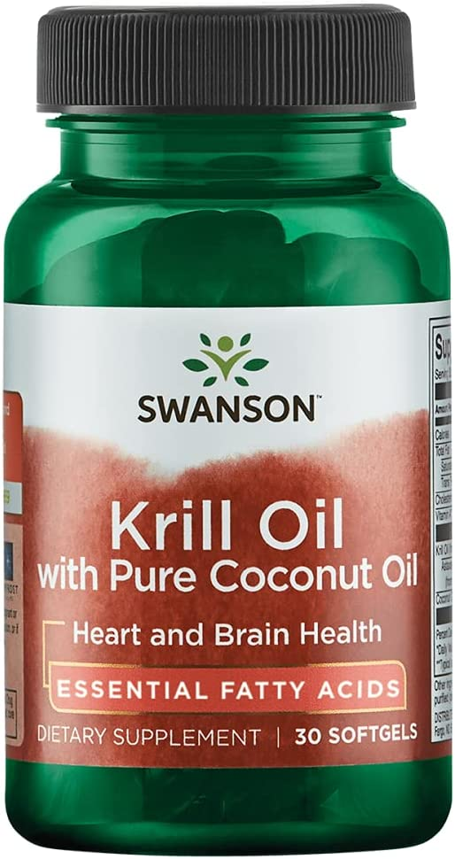 Easy-to-use Swanson Cash special price Rimfrost Krill Oil with Pure Sgels 30 Coconut