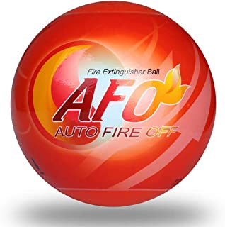 Fire Extinguisher Ball - AFO Automatic Self-Activation Fire Ball With Wall Mounting Bracket Fire Suppression Device