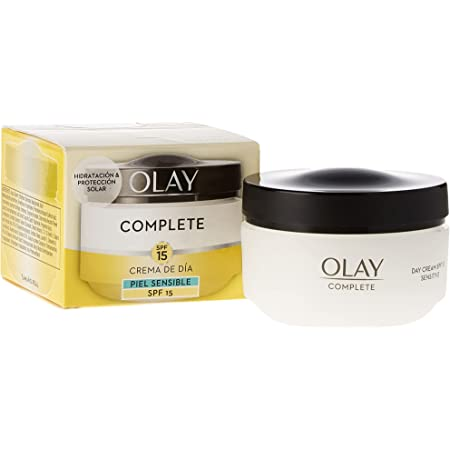 Crema de día Hidratante 3 en 1 Olay Complete con SPF15 (pieles sensibles) - 50ml