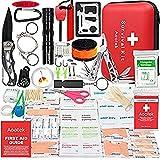 ホステキ 救急セット登山 アウトドア 268ピース入り 携帯用 救急箱