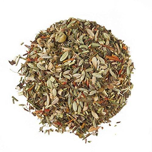 Aromas de Té - Infusión Rooibos Zen - Contiene Hinojo, Anís, Honeybush Verde, Manzanilla, Cártamo y Anís - Sin Aditivos - Sin Teína - Propiedades Digestivas y Diuréticas - 50 gr.