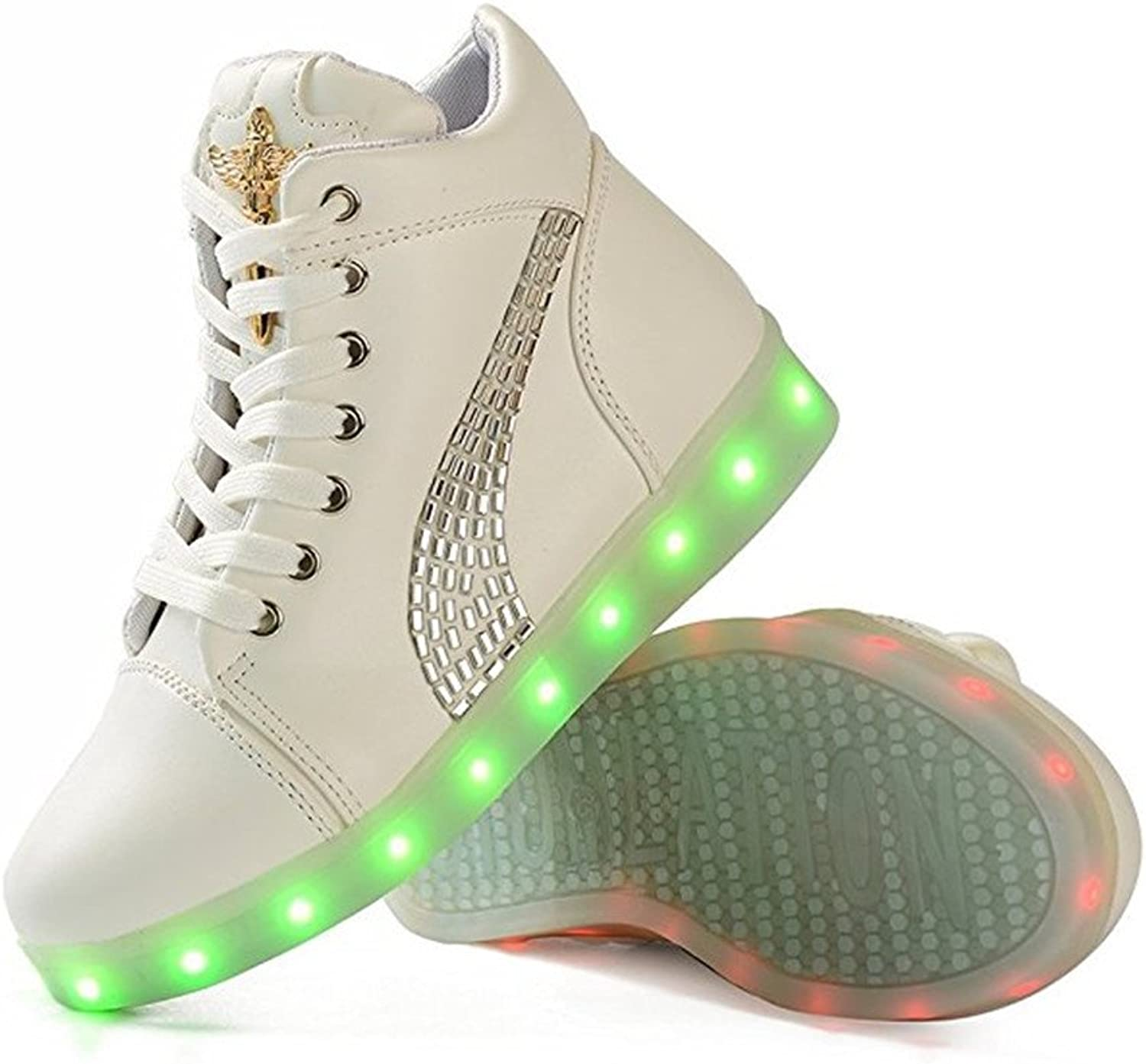 Jedi fight back LED Light Up Trainer Lace Up Women Luminous Casual shoes Sneakers