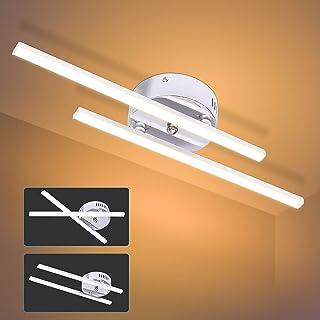 Lamparas de Techo Modernas 14W Luz Led 3000K 700LM Plafones Led Techo para Cocina Salon Habitación Dormitorio Baño Estudio Fácil de Instalar Apto para Juvenil[Clase de eficiencia energética A+]