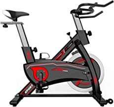 leikefitness Indoor Cycling Bike for Both Men and Women Ultra-Quiet Exercise Bike Stationary Bike LCD Display for Home Cardio Workout