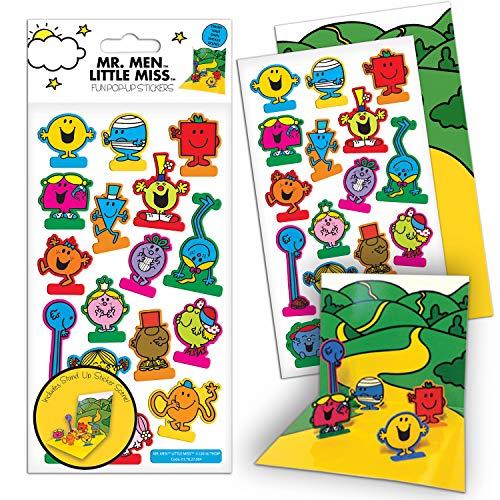 Paper Projects 01.70.27.004 De heer Mannen en Kleine Miss Pop Up Sticker Pac