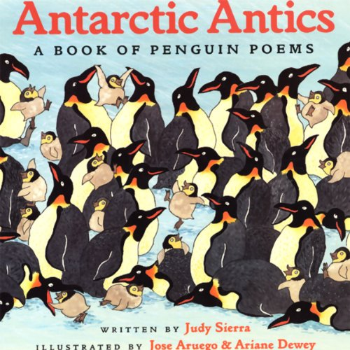 Antarctic Antics audiobook cover art