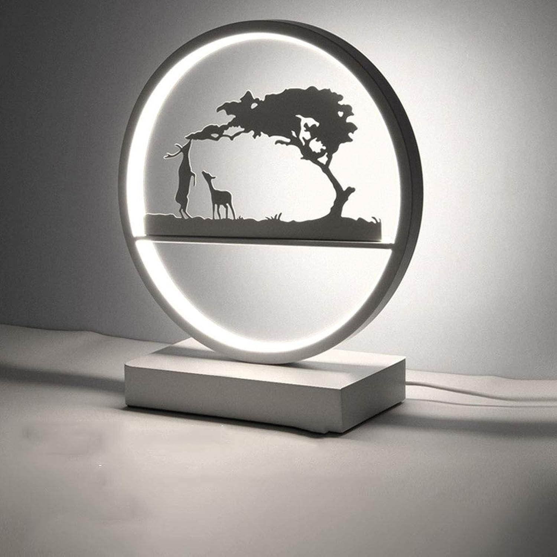 SAC d'épaule Nachttischlampe, Tischlampe Schlafzimmer Nachttischlampe kreative kreative dekorative Lampe,Weißlight,A