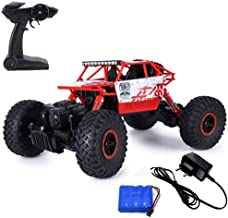 The Flyers Bay 1:18 Scale Bay Rock Crawler 4WD Rally Car - The Mean Machine, Red