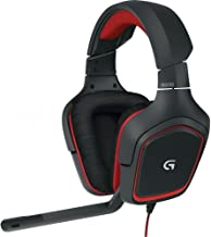 Logitech G230 Stereo Gaming Headset with mic (Renewed)