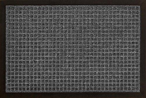 ID Mat 6080 02 Impact Vierkante deurmat, polypropyleenvezel/rubber, 80 x 60 x 1 cm