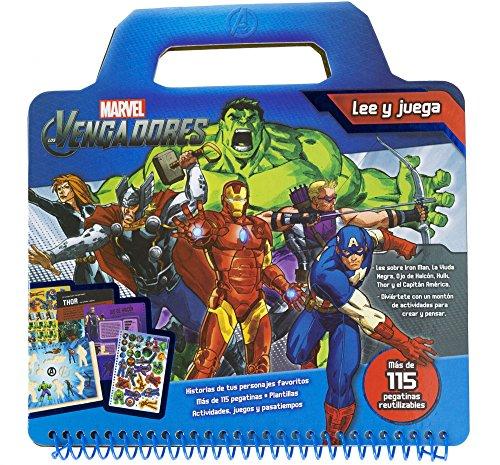 Los Vengadores. Lee y juega (Marvel. Los Vengadores)