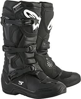 Alpinestars Tech 3 Motocross Off-Road Boots 2018 Version Men's Black Size 12
