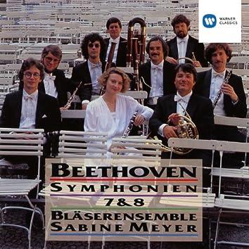 Beethoven: Symphonies Nos.7 & 8 · arr. for Wind Ensemble