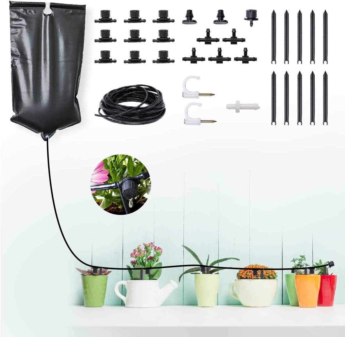 Indoor Irrigation System Kit New 2021new shipping free shipping color Automatic Ga Drip