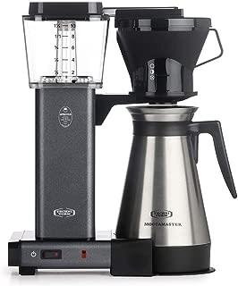 Technivorm Moccamaster 10-Cup 40oz Coffee Brewer Handmade Coffee Maker - KBT741 - Stone Gray
