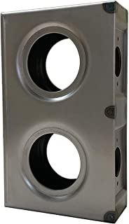 OASIS Gate Lock Box Double Hole 7-5/8
