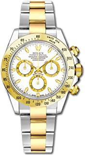 Rolex Cosmograph Daytona 116523 Yellow Gold with Steel Men's Watch
