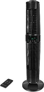 MYCARBON Ventilateur Tour Silencieux avec Télécommande ECO Mode 32dB 350m³/h Ventilateur Colonne Oscillant 360° 45W 8H Min...