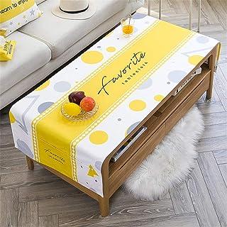 LMWB Bordsskydd, bordsduk, TV-skåp tyg vardagsrum bordsduk tebordsduk bomull linne vattentät och oljesäker rektangulär-D_5...