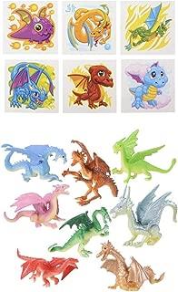 Dragon PARTY Favors - 36 Mini Figures 2