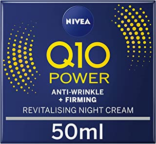 Nivea Q10 Power Anti-rynkor Uppstramande Nattkräm, 50 ml