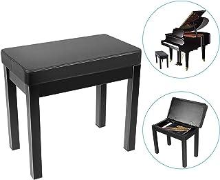 Neewer Piano Bench Stool Keyboard Bench - Padded Cushion Del