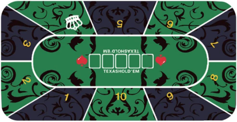 Finally popular brand COFFEE CAT Portable Poker Mat Casin Layout Indefinitely Table Top Waterproof