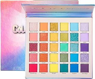 Beaupretty 1 doos 30 kleuren glinsterende oogschaduw make-up palet oogschaduw glitter cosmetica