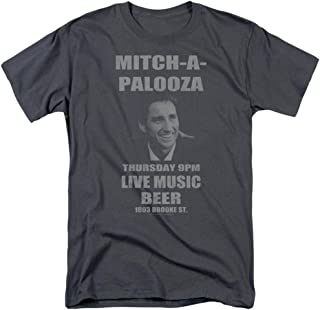 Old School Movie Mitch-A-Palooza Poster Licensed Adult T-Shirt