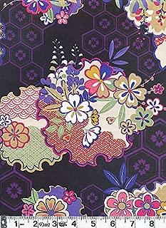 japanese flower print fabric