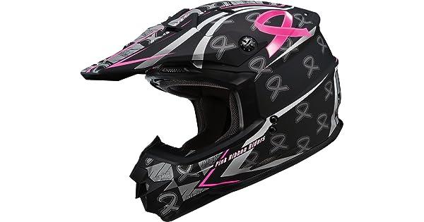 Gmax G3766406 F.TC-14 GM76X Pink Ribbon Helmet