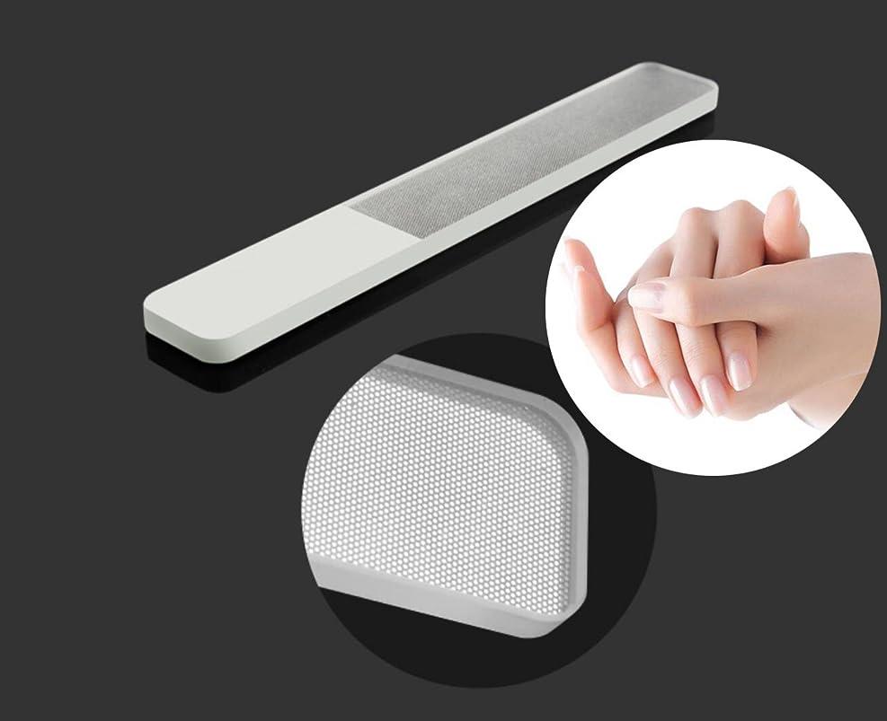 新鮮なクールリーズ爪やすり ガラス製 ナノメートル加工 工場直送 5点セット