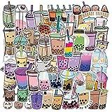 Lindas pegatinas de dibujos animados de té de leche, portátil, guitarra, equipaje, nevera, teléfono, bicicleta, impermeable, pegatina de graffiti, calcomanía para chico, juguetes clásicos, 50 Uds.