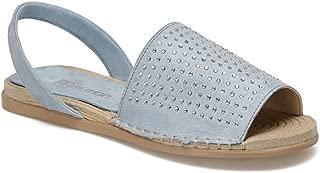 MURCİA Mavi Kadın Sandalet
