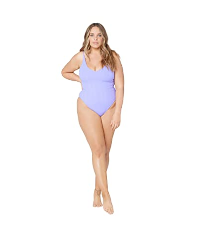 L*Space Pointelle Rib Gianna Classic One-Piece
