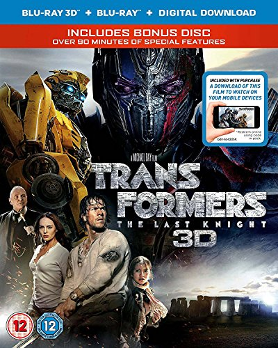 Blu-ray3 - Transformers: The Last Knight (3D + 2D Bd+Itunes+Bonus Disc Bd) - 3D Blu-Ray (3 BLU-RAY)