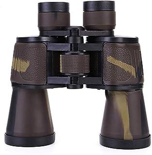 Impermeable y portátil 20X50-Telescopio de alta definición camuflaje Prismáticos -Con lente FMC Y Bak4 Prisma material adecuado for el recorrido de caza BBGSFDC (Color : C)