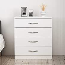 Bravo Drawers, Melamine, White 8681285901910_Bianco