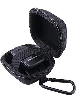 WERJIA Hard Storage Case for Fingertip Pulse Oximeter Blood Oxygen Fingertip Oximeter Case (Black)