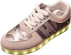 Men's Light Up Shoes Women's Flashing Dance Sneakers.