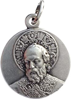Saint Nicholas of Bari Medal - The Patron Saints Medals …Made in Italy