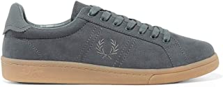 Fred Perry B721 Micro Fibre Tennis Men's Shoes in Airforce Medium