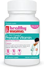 Healthy Mama Be Well Rounded! Best Dye Free Prenatal Multivitamin, Gentle on The Stomach; 2 Months