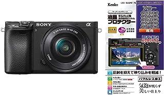 ソニー SONY ミラーレス一眼 α6400 パワーズームレンズキット E PZ 16-50mm F3.5-5.6 OSS ブラック ILCE-6400L B + Kenko 液晶保護フィルム