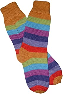Calcetines de Alpaca - Unisex - Diseño a Rayas