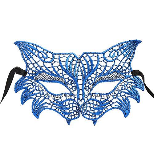 serliy Maskerade Lace Maske Catwoman Halloween Ausschnitt Prom Party Maske Zubehör Maske Ekelhafte Gesichtsmaske Terror Schal Halswärmer Gesichtsmaske schönheits op schöne Haut schönheit Kunst