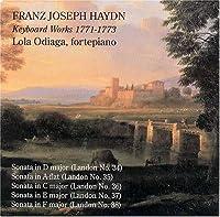 Franz Joseph Haydn: Keyboard Works 1771-1773 (Hob. XVI/21-23, 33, 43) - Lola Odiaga, Fortepiano by J. Haydn